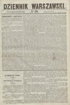 Dziennik Warszawski. 1855, № 28 (30 stycznia)