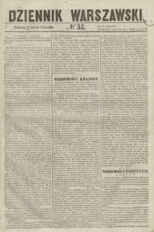 Dziennik Warszawski. 1855, № 53 (25 lutego)