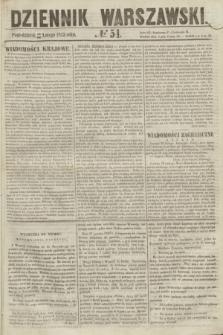 Dziennik Warszawski. 1855, № 54 (26 lutego)