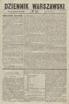 Dziennik Warszawski. 1855, № 55 (27 lutego)