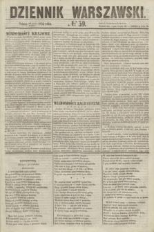 Dziennik Warszawski. 1855, № 59 (3 marca)