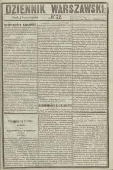 Dziennik Warszawski. 1855, № 72 (16 marca)