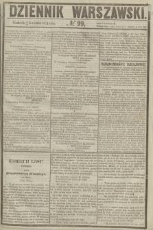 Dziennik Warszawski. 1855, № 99 (15 kwietnia)