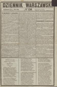 Dziennik Warszawski. 1855, № 150 (11 czerwca)