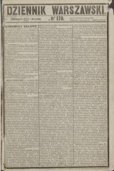 Dziennik Warszawski. 1855, № 170 (2 lipca)