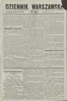 Dziennik Warszawski. 1855, № 311 (22 listopada)