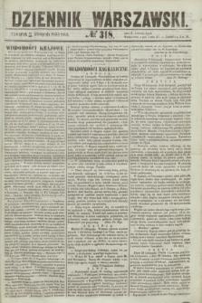 Dziennik Warszawski. 1855, № 318 (29 listopada)