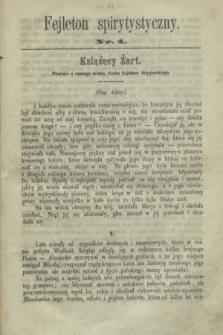 Fejleton Spirytystyczny. R.2, nr 4 (1870)