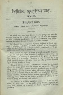 Fejleton Spirytystyczny. R.2, nr 8 (1870)