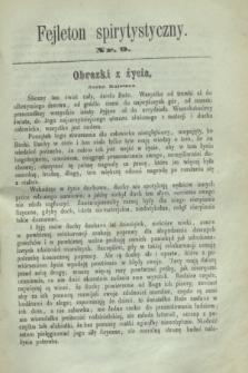 Fejleton Spirytystyczny. R.2, nr 9 (1870)