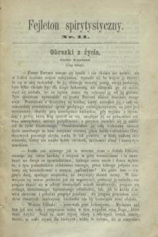 Fejleton Spirytystyczny. R.2, nr 11 (1870)