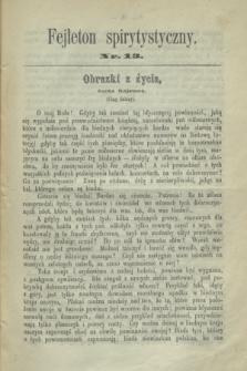 Fejleton Spirytystyczny. R.2, nr 13 (1870)