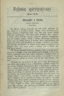 Fejleton Spirytystyczny. R.2, nr 14 (1870)