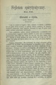 Fejleton Spirytystyczny. R.2, nr 15 (1870)