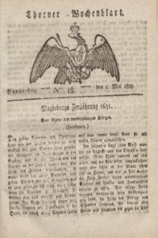 Thorner Wochenblatt. 1823, Nro. 18 (1 Mai)