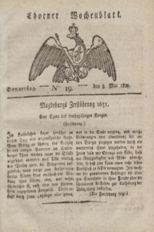 Thorner Wochenblatt. 1823, Nro. 19 (8 Mai)