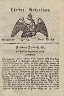 Thorner Wochenblatt. 1823, Nro. 22 (22 Mai)