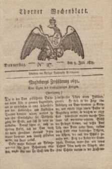 Thorner Wochenblatt. 1823, Nro. 27 (3 Juli)