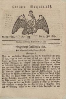 Thorner Wochenblatt. 1823, Nro. 28 (10 Juli)