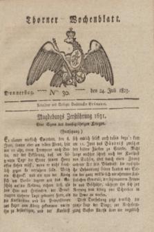 Thorner Wochenblatt. 1823, Nro. 30 (24 Juli)