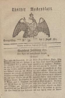 Thorner Wochenblatt. 1823, Nro. 32 (7 lipca)