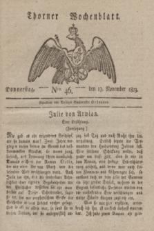 Thorner Wochenblatt. 1823, Nro. 46 (13 November)