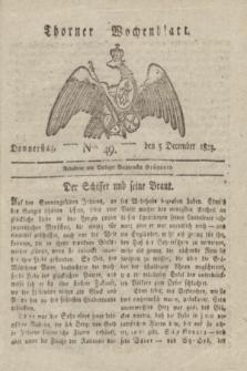 Thorner Wochenblatt. 1823, Nro. 49 (5 December)