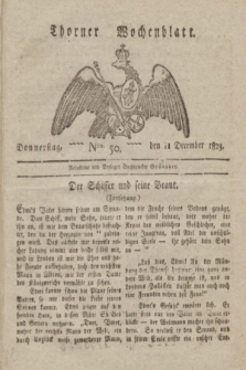 Thorner Wochenblatt. 1823, Nro. 50 (11 December)