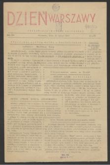 Dzień Warszawy : popołudniowe pismo codzienne. R.3, nr 489 (10 lutego 1943)