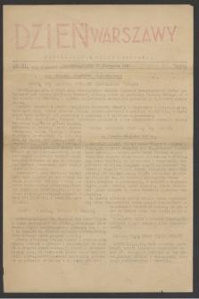 Dzień Warszawy : popołudniowe pismo codzienne. R.3, nr 723 (12 listopada 1943)