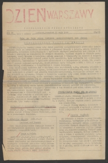 Dzień Warszawy : popołudniowe pismo codzienne. R.4, nr 904 (11 maja 1944)