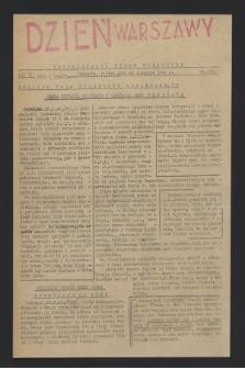 Dzień Warszawy : popołudniowe pismo codzienne. R.4, nr 1033 (25 sierpnia 1944)