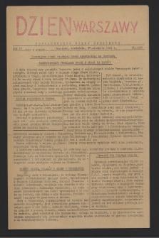 Dzień Warszawy : popołudniowe pismo codzienne. R.4, nr 1037 (27 sierpnia 1944)