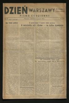 Dzień Warszawy : pismo codzienne : wydanie poranne. R.4, Nr 1028 (23 sierpnia 1944)