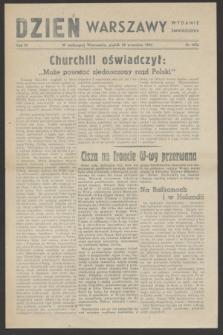 Dzień Warszawy : wydanie zmniejszone [Śródmieście-Południe]. R.4, nr 1076 (29 września 1944)