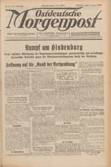 Ostdeutsche Morgenpost : erste oberschlesische Morgenzeitung. Jg.14, Nr. 9 (9 Januar 1932)