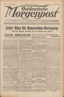 Ostdeutsche Morgenpost : erste oberschlesische Morgenzeitung. Jg.14, Nr. 16 (16 Januar 1932)