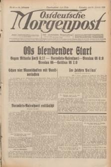 Ostdeutsche Morgenpost : erste oberschlesische Morgenzeitung. Jg.14, Nr. 25 (25 Januar 1932)