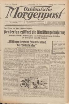 Ostdeutsche Morgenpost : erste oberschlesische Morgenzeitung. Jg.14, Nr. 34 (3 Februar 1932)