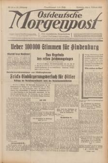 Ostdeutsche Morgenpost : erste oberschlesische Morgenzeitung. Jg.14, Nr. 35 (4 Februar 1932)