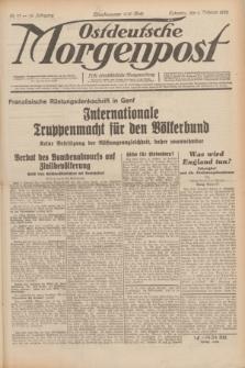 Ostdeutsche Morgenpost : erste oberschlesische Morgenzeitung. Jg.14, Nr. 37 (6 Februar 1932)