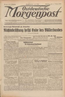 Ostdeutsche Morgenpost : erste oberschlesische Morgenzeitung. Jg.14, Nr. 46 (15 Februar 1932)