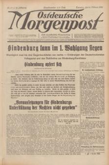 Ostdeutsche Morgenpost : erste oberschlesische Morgenzeitung. Jg.14, Nr. 47 (16 Februar 1932)