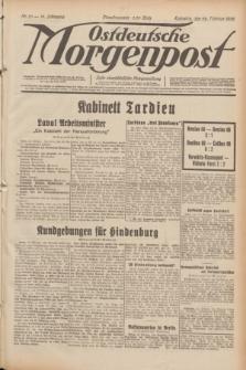 Ostdeutsche Morgenpost : erste oberschlesische Morgenzeitung. Jg.14, Nr. 53 (22 Februar 1932)