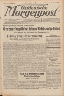 Ostdeutsche Morgenpost : erste oberschlesische Morgenzeitung. Jg.14, Nr. 56 (25 Februar 1932)