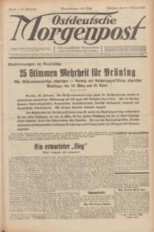 Ostdeutsche Morgenpost : erste oberschlesische Morgenzeitung. Jg.14, Nr. 58 (27 Februar 1932)
