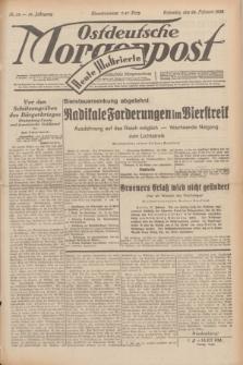 Ostdeutsche Morgenpost : erste oberschlesische Morgenzeitung. Jg.14, Nr. 59 (28 Februar 1932) + dod.