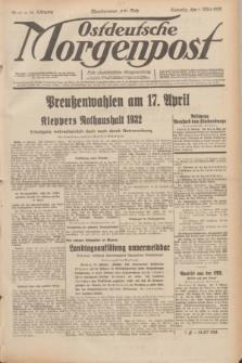 Ostdeutsche Morgenpost : erste oberschlesische Morgenzeitung. Jg.14, Nr. 61 (1 März 1932)