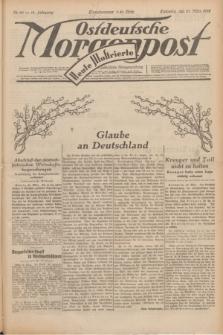 Ostdeutsche Morgenpost : erste oberschlesische Morgenzeitung. Jg.14, Nr. 86 (27 März 1932) + dod.