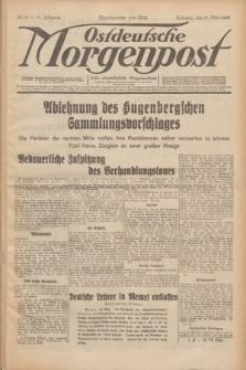 Ostdeutsche Morgenpost : erste oberschlesische Morgenzeitung. Jg.14, Nr. 89 (31 März 1932)
